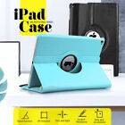 "360 Rotating Leather Smart Case Cover for Apple iPad 6 5 4 3 Air mini 9.7"" 2019"