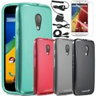 For Motorola Moto G 2nd Gen 2014 Frosted Matte TPU Gel Case Cover Accessories