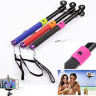 Extendable Shutter Handheld Selfie Stick Monopod for Samsung iPhone6 Smartphone
