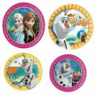 DISNEY FROZEN (Pricipessa) Piatti Party (4 stampe/misure disponibili)