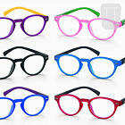 NEW RETRO/VINTAGE ROUND COLOURFUL RIMMED READING GLASSES 1.0+1.5+2.00+2.50+3+3.5