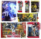 TRANSFORMERS - Stationery Sets, Pencil Cases, Art Set, Notebook)(Kids/Gift/Xmas)