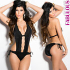 New Sexy Women's Hot Padded Monokini Swimwear Beachwear One Piece Swimmers Togs
