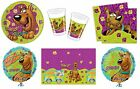 SCOOBY DOO Birthday PARTY RANGE (Tableware Balloons & Decorations)