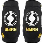 2014 Bliss Unisex Basic Mountain Bike Cycling Elbow Protection Safety Pads Black