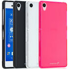 New Frosted Matte ULTRA THIN Flexible Soft TPU Gel Case Cover For Sony Xperia Z3
