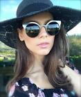 50's Vintage Cat Eye Round Circle Women Lucia Sunglasses Retro Fashion Shades
