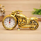 Creative Motorcycle Digital Alarm Clock Model Home Office Quartz Movement Clock