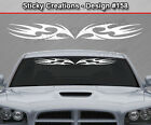 Design #158 Tribal Spikes Windshield Decal Back Window Sticker Vinyl Graphic Car