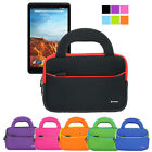 "Tablet Handle Portfolio Sleeve Case Bag For Verizon Ellipsis 8"" QTAQZ3/7"" Qmv7a"