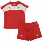 Puma SF Ferrari T-Shirt & Shorts Infant Boys Set (761396 01 U12)