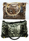 BNWT Leopard Face Holdall Handbag Shoulder Tote Shopping Bag    40 x 27 cms