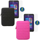 "Tablet Sleeve Case Pouch Cover Bag+2x Screen Protector For 7"" HP Stream 7 (5701)"