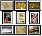 LOTR & The Hobbit - Framed Posters/Prints 30x40cm (Fully Licensed/Artwork)