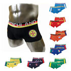 top trendy Cotton Boxer Man Country Flag Underwear Men's Brief M,L,XL 9 Color