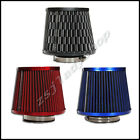Universal Carbon Finish Air Intake Filter Cone Mesh Cone 76mm Car Auto Truck