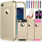 Gold Hybrid Shockproof Hard Rugged Heavy Duty Cover Case For iPhone 6 / 6S Plus