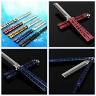1pcs Outdoor Practice Training Butterfly Balisong Style Comb Cool Sports W