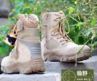 NEW TACTICAL OUTDOOR HUNTING ATHLETIC COMBAT BOOTS HIKING ZIPPER WORK SHOES