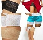 Genuine Bandelettes Anti Chafing Lace Thigh Bands Onyx