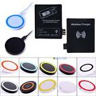 Qi Wireless Charger Pad + Receiver Card for Samsung Galaxy Note 2 N7100 #BMT