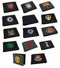 OFFICIAL FOOTBALL CLUB - Embroidered Crest WALLET (Gift/Money/Mens/Youth/Xmas)