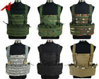 Tactical Military Paintball Molle Combat Vest w/ Hydration Pouch Magazine Pouch