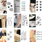 Fashion 1PCS Tattoo Sticker Waterproof Temporary Tattooing Paper Body Art Design