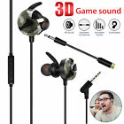 3.5MM Wired Gaming Headset Mic Stereo Headphone For PS4 Xbox One Nintendo Switch