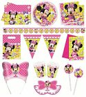 MINNIE'S BOW-TIQUE Birthday PARTY RANGE (Partyware/Decoration/Celebration)