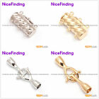 Jewelry Making Necklace  Findings Toggle Clasps Yellow White 14K Gold Plated