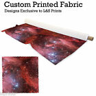 STARRY NIGHT 4 PRINT DESIGN FABRIC LYCRA SPANDEX ALOBA POLYESTER L&S PRINTS