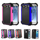 New Hard Back ShockProof Case Cover For Samsung Galaxy S3 III i9300 & Protector
