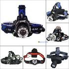 500LM-6000LM CREE XM-L T6/Q5 LED Zoomable Zoom Adjustable Headlamp Headlight MT