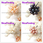 Freshwater Pearl Necklace Pendant Fashion Jewelry White Gold Plated Women Gift