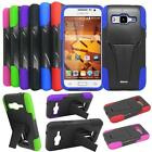 For Boost Samsung Galaxy Prevail LTE Phone Case Rugged Cover Kickstand