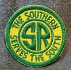 LMH Patch  SOUTHERN Railway SOU Green Yellow SERVES SOUTH SR SRR Railroad pre NS