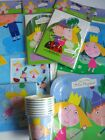 BEN & HOLLY'S LITTLE KINGDOM PARTY RANGE {fixed £1 p&p}