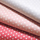 """FREE SPIRIT """"PETAL"""" HOME DECOR FRENCH DOTS SATW058 by the 1/2 yard"""