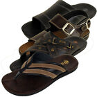 Mens Faux Leather Beach Sandal Smart Mules Sandals Summer Shoes Size UK 7-12