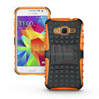 Rugged Armor Hybrid Case Cover For Samsung Galaxy Core Prime Prevail LTE G360