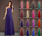 New Bridesmaid Dress Long Prom Wedding Gowns Party Evening Formal Size 6-26