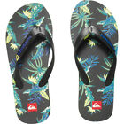Quiksilver Molokai Art Mens Footwear Sandals - Black Green Blue All Sizes
