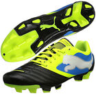 Mens Puma Powercat 4 FG Firm Ground Black Football Boots Soccer Boot New Cleats