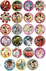 8 PAPER PLATES (20cm) LICENSED CHARACTER DESIGNS Range (Birthday Party)
