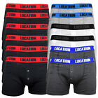 12 Pack Mens Location Boxer Shorts Trunks Novelty Gift Underwear Cotton Boxers