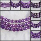 """H1483-1487 Wholesale Amethyst Ball Loose Beads 15"""""""