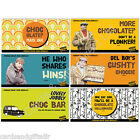 Only Fools & Horses Chocolate Bar Del Boy Lovely Jubbly Mais Oui Plonker Cushty