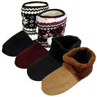 Womens Mens Dunlop Furry Ankle Boot Bootee Slipper Ladies Eskimo Slippers