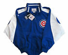 Chicago Cubs MLB Lightweight Full Zip Jacket-Majestic-Blue/White-Big Sizes-NWT